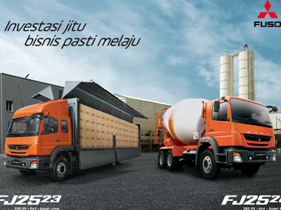 The New Fuso Debut: New Fuso Perkuat Market Share Truk Mitsubishi