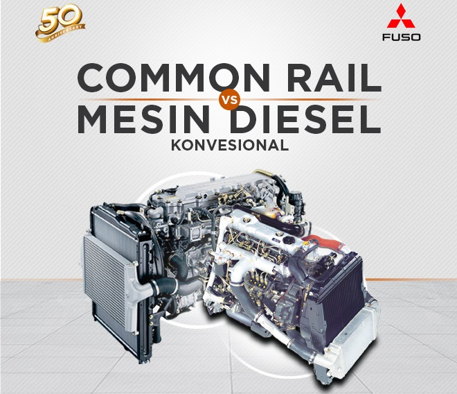 Common Rail VS Mesin Diesel Konvensional