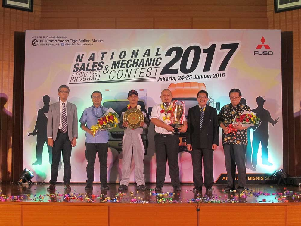 Pemenang Sales Appraisal Program & Mechanic Contest 2017