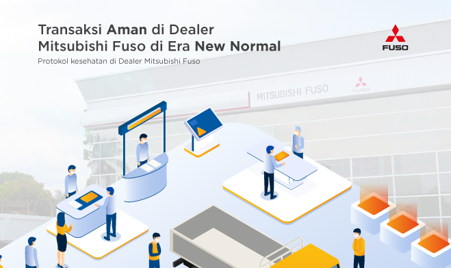 Transaksi Aman di Dealer Mitsubishi Fuso di Era New Normal
