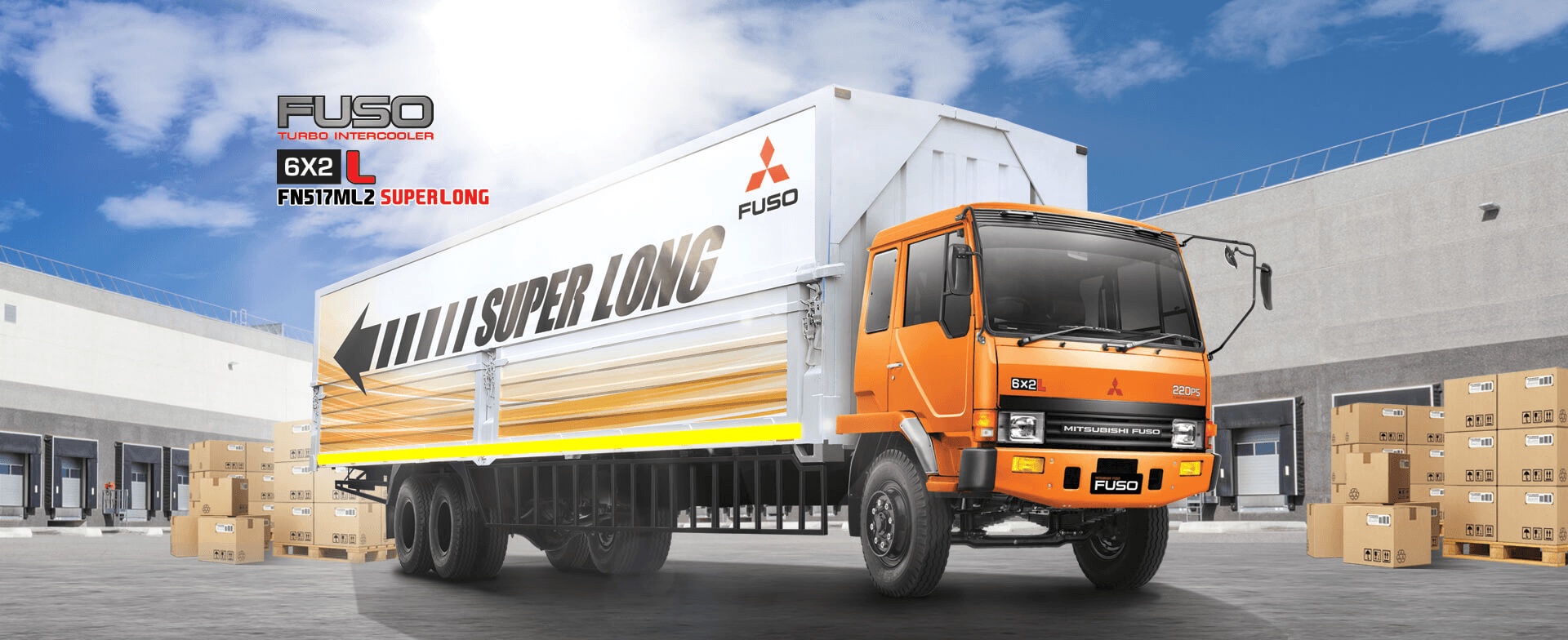 Mitsubishi Fuso FN 517 ML2 SUPER LONG